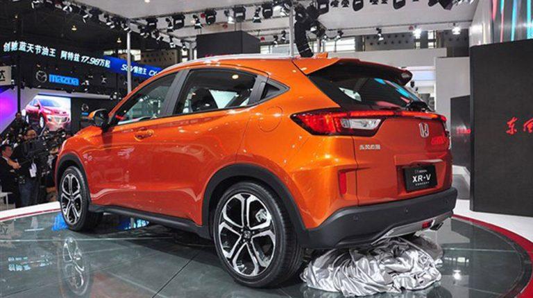 XR-V SUV cỡ nhỏ, giá rẻ mới của Honda
