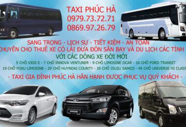 Taxi đi tỉnh giá rẻ
