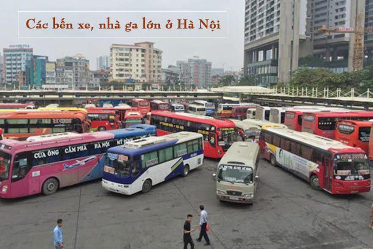 Hà Nội có bao nhiêu bến xe, nhà ga và nơi nào là lớn nhất?