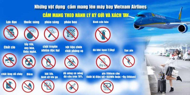 Những thứ được mang và không được mang lên máy bay