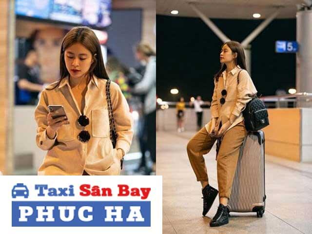 Ra sân bay nên mặc gì? – Quần áo rộng
