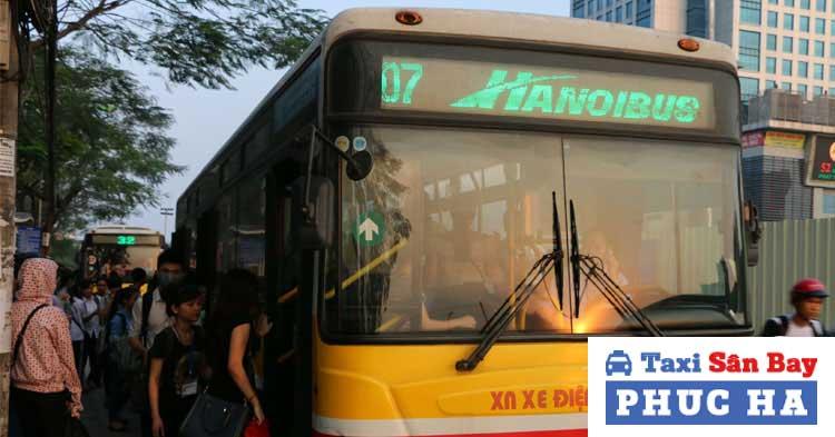 Xe buýt số 07 Cầu Giấy – Nội Bài