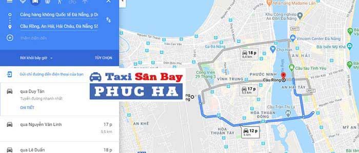 Mất bao nhiêu thời gian từ sân bay Đà Nẵng về đến trung tâm thành phố