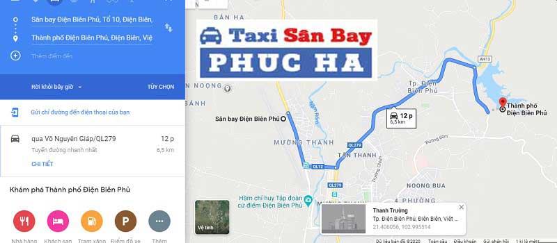 Sân bay Điện Biên Phủ cách trung tâm thành phố bao nhiêu
