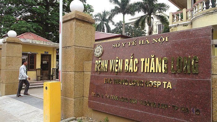 Bệnh viện Bắc Thăng Long cách sân bay Nội Bài không xa khi di chuyển bằng taxi