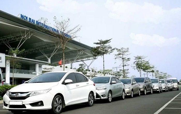 Di chuyển từ bến xe Mỹ Đình đến sân bay Nội Bài bằng taxi