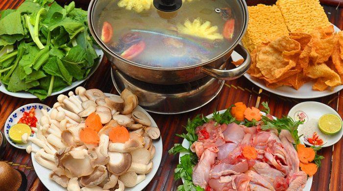 Nhà hàng Green có phục vụ cả các món lẩu theo phong cách ẩm thực 3 miền