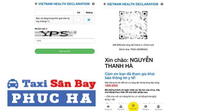 Khai báo y tế qua app Vietnam Health Declaration 3