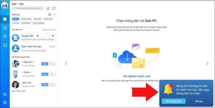 Hướng dẫn đăng nhập bằng Zalo Web