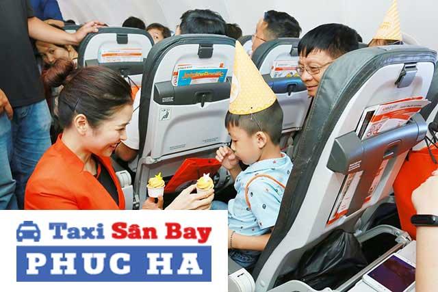 Quy định trẻ em đi máy bay đối với bé trên 2 tuổi
