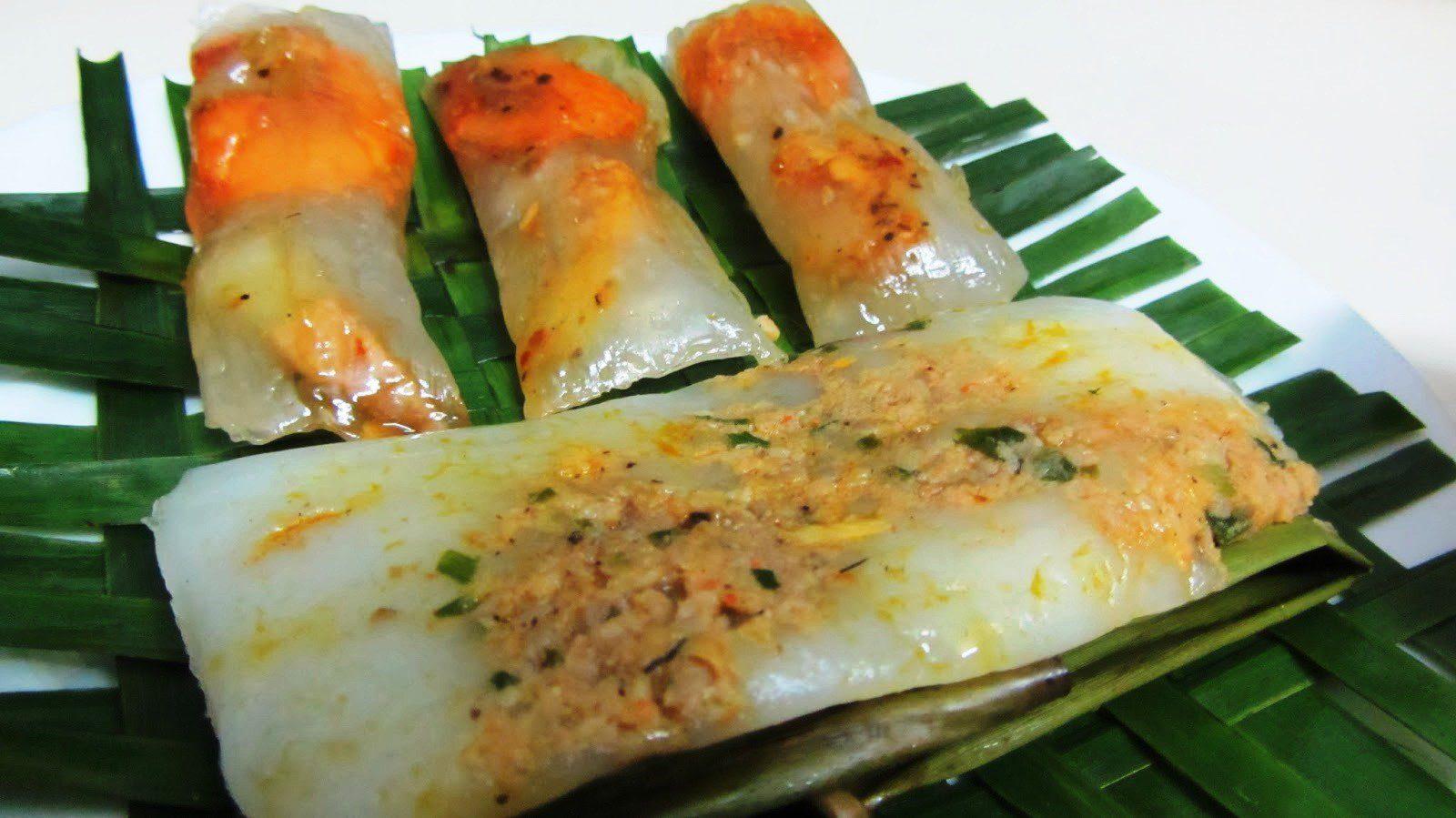Bánh lọc, bánh nậm – Đặc sản Quảng Bình