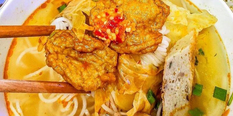 Bún chả cá Đà Nẵng