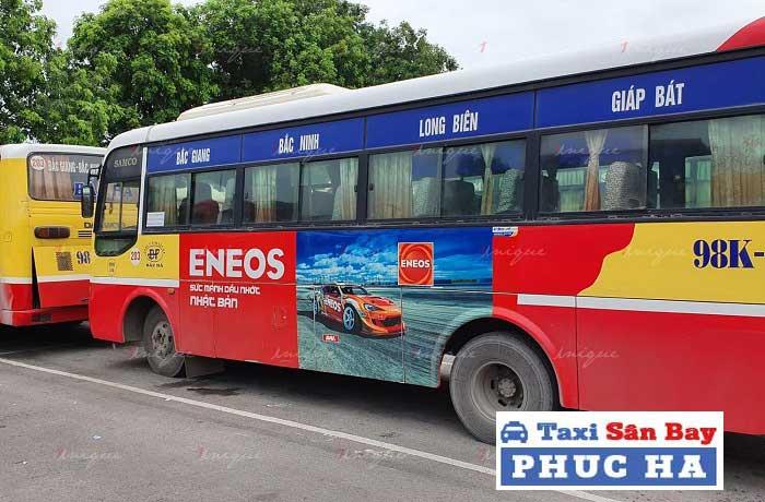 Di chuyển từ Hà Nội đến Hà Nam bằng xe bus