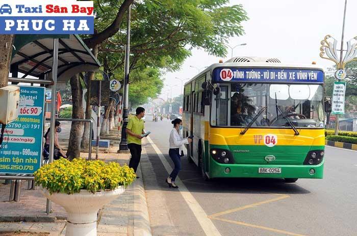 Di chuyển từ Hà Nội đi Vĩnh Phúc bằng xe bus