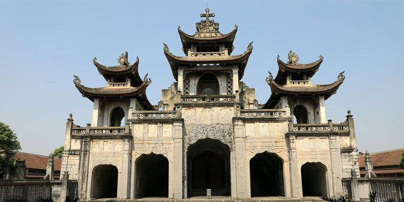 Kinh nghiệm du lịch Ninh Bình - Kinh nghiệm du lịch Ninh Bình - Nhà thờ đá Phát Diệm