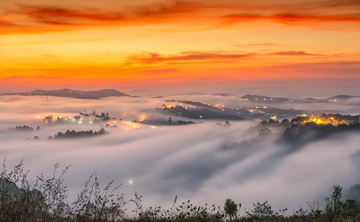 Săn mây Đồi Đa Phú