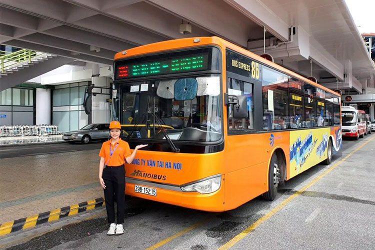 Bus 86: Ga Hà Nội – Nội Bài
