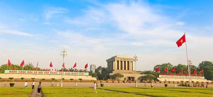 Lăng Bác và Quảng trường Ba Đình