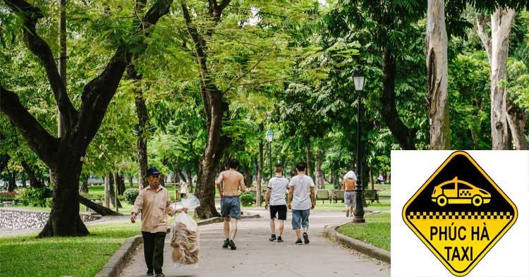 Công viên Thống Nhất, quận Hai Bà Trưng