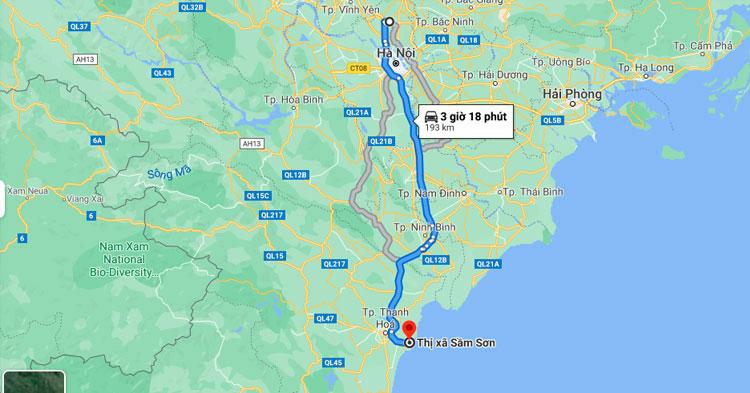 Kinh nghiệm đặt xe từ sân bay Nội Bài đi Sầm Sơn