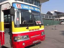 Tuyến xe bus Nội Bài Hà Nội số 17