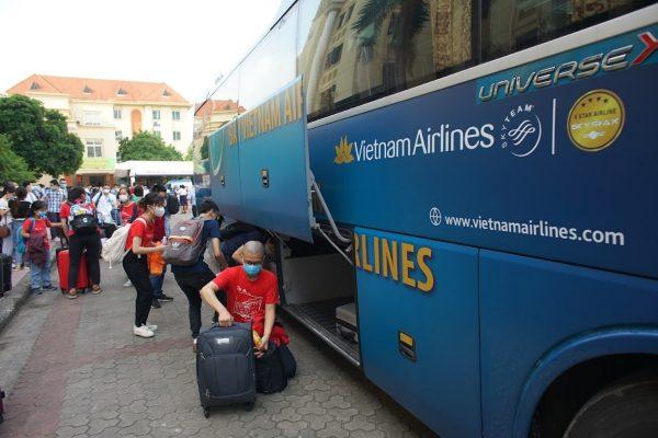 Xe bus Nội Bài Hà Nội: hãng xe Vietnam Airlines