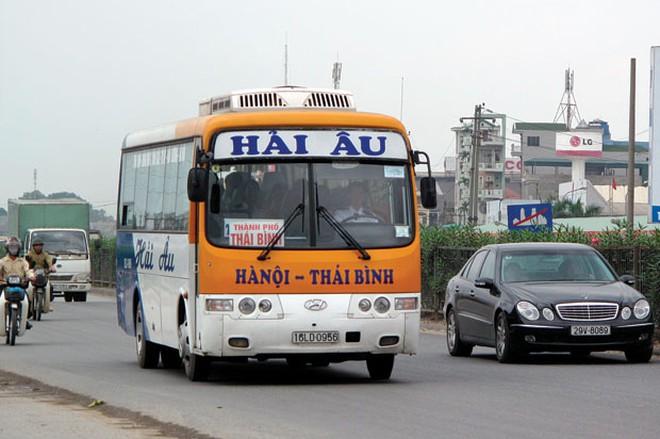Xe khách Hà Nội Thái Bình